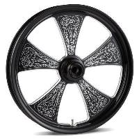 Victory Arlen Ness Billet Custom Engraved Rims