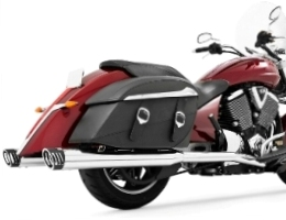 Victory Cross Country Freedom Exhaust Systems